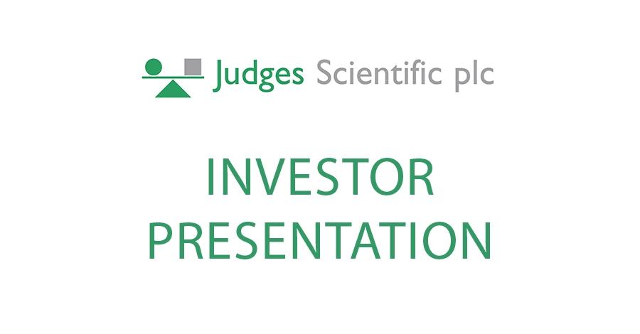 Investor Presentation   Investor Presentation Judges Scientific